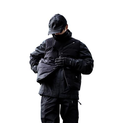 ENENSHADOWER隐蔽者双面穿夹棉马甲潮牌冬季保暖坎肩背心男