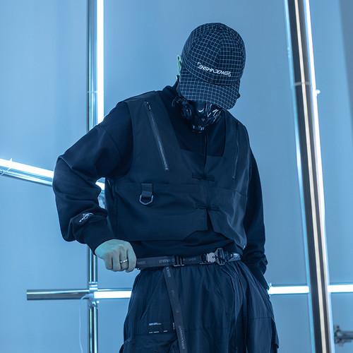ENSHADOWER隐蔽者寄生式口袋马甲卫衣