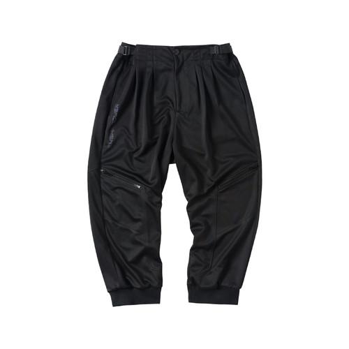 ENSHADOWER隐蔽者新品可调节垂感阔腿裤男潮牌黑色西装裤休闲裤