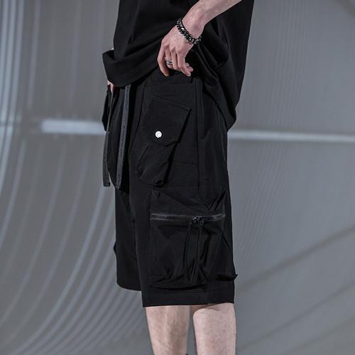 ENSHADOWER隐蔽者工装机能多口袋短裤潮流机能风休闲五分裤中裤夏