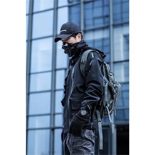 ENSHADOWER隐蔽者新品格纹帽子黑色棒球帽休闲男女鸭舌帽弯檐帽潮
