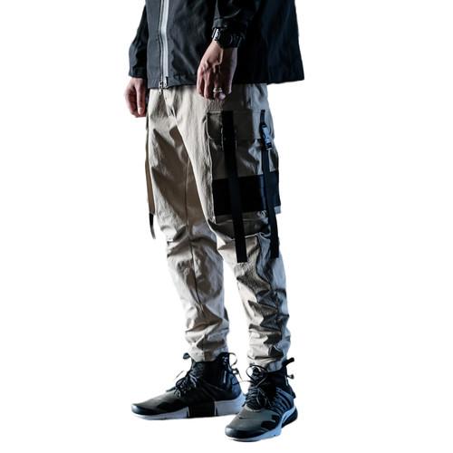 ENSHADOWER隐蔽者机能休闲裤男潮牌弯刀裤长裤国潮工装裤
