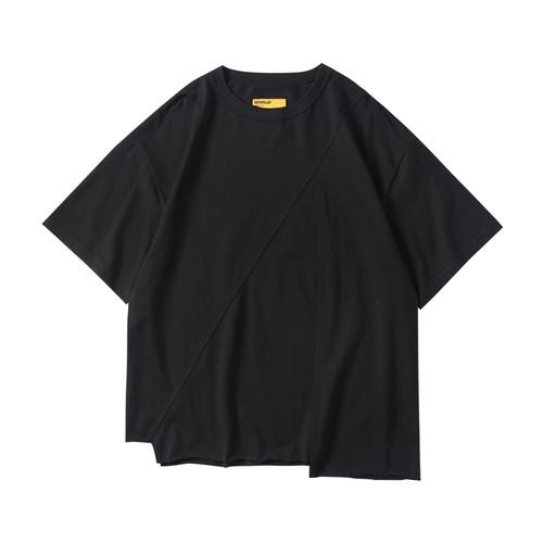 ENSHADOWER隐蔽者机械暗纹印花T恤男夏季休闲圆领宽松半袖短袖潮
