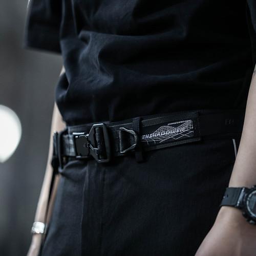 ENSHADOWER隐蔽者新品磁铁扣快拆单飘腰带工装机能风腰带