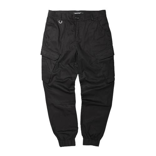 ENSHADOWER隐蔽者国潮三色立体口袋工装束脚裤男新款宽松小脚裤