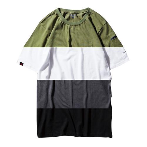ENSHADOWER隐蔽者纯色潮牌短袖男夏季圆领纯棉T恤宽松休闲打底衫