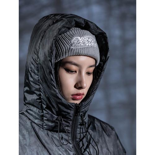 ENSHADOWER隐蔽者针织帽男秋冬季潮牌毛线帽保暖情侣男女百搭冷帽