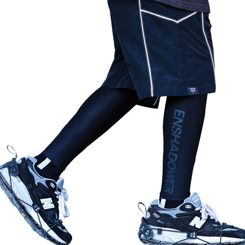 ENSHADOWER隐蔽者潮流健身打底裤紧身训练篮球长裤速干透气运动裤