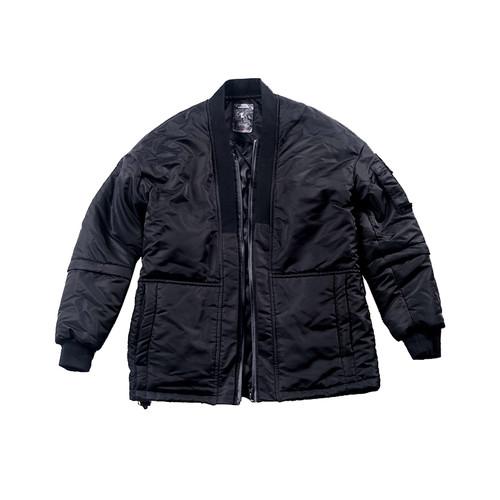 ENSHADOWER隐蔽者可拆卸机能道袍棉衣MA-1飞行员夹克男士休闲棉服
