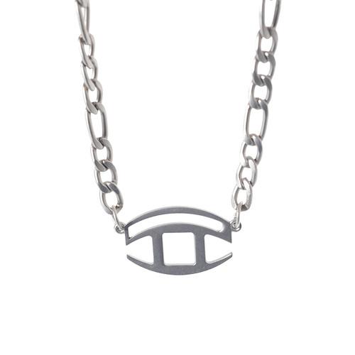 ENSHADOWER隐蔽者异形Logo组合项链百搭情侣锁骨链个性配饰