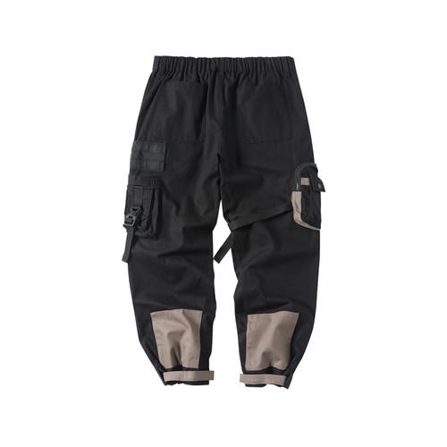 ENSHADOWER隐蔽者xCAT联名款拼色口袋工装裤宽松潮男多口袋休闲裤