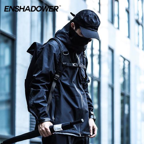 ENSHADOWER隐蔽者&COMBACK联名款19SS机能冲锋衣战术服外套夹克潮