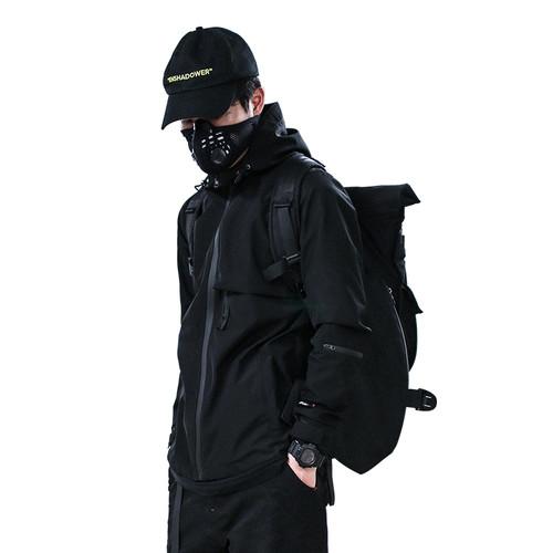 ENSHADOWER隐蔽者复合防水反光印花冲锋衣 薄款夹克男潮流基础款