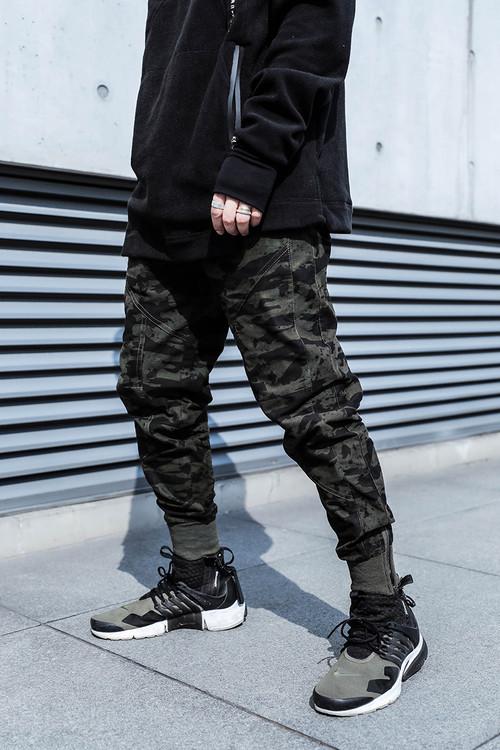 ENSHADOWER隐蔽者五代束脚裤男潮牌宽松机能风长裤迷彩裤工装裤子