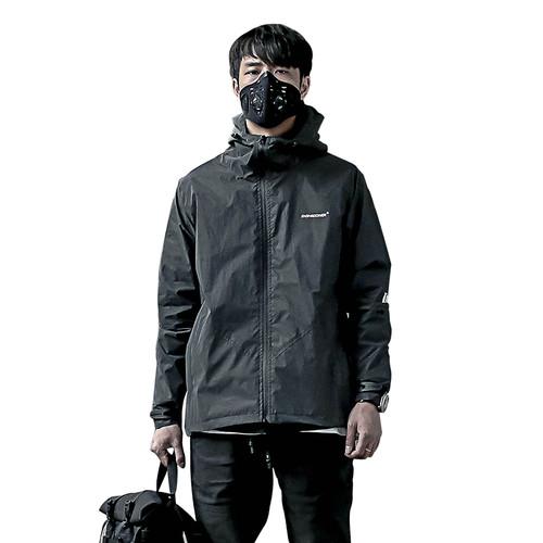ENSHADOWER隐蔽者黑色全反光冲锋衣男春秋休闲运动防风衣潮牌外套