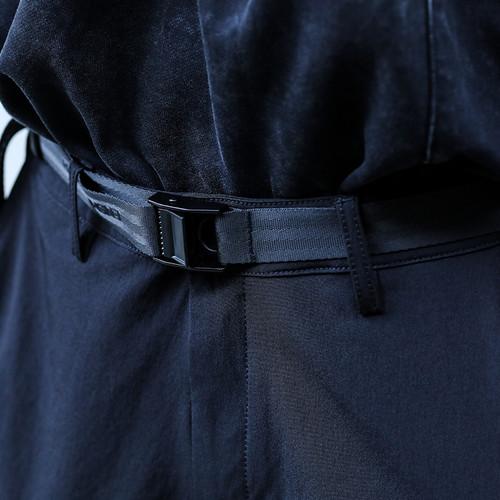 ENSHADOWER隐蔽者运动户外压扣腰带男潮流配饰黑色金属头休闲裤带
