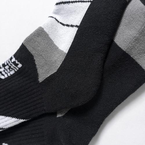 ENSHADOWER隐蔽者新品几何撞色长筒袜男士袜子潮流机能风格高帮袜