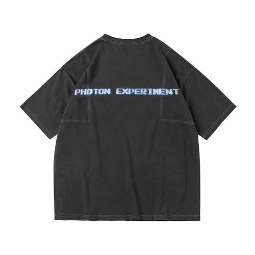 ENSHADOWER隐蔽者新款裁片拼接短袖T恤男潮流复古宽松半袖上衣夏