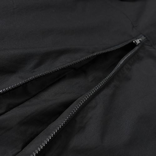 ENSHADOWER隐蔽者潮牌后背拉链衬衫男国潮机能风衬衣外套翻领寸衫