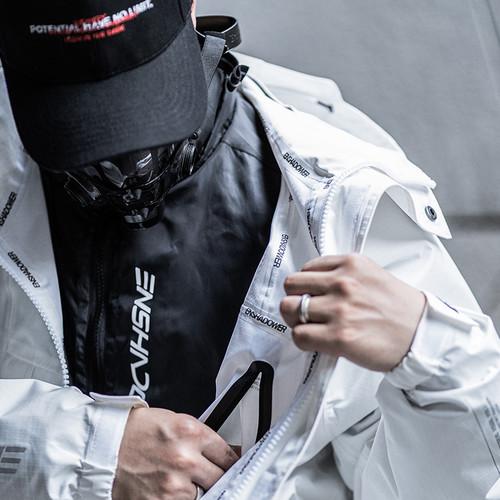 ENSHADOWER隐蔽者通用内胆棉衣冬新款男士外套黑色潮牌立领棉服