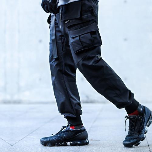ENSHADOWER隐蔽者潮牌七袋束脚裤国潮宽松工装裤小脚机能休闲裤