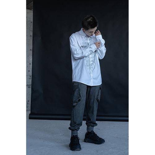 ENSHADOWER隐蔽者国潮男士束脚裤宽松工装大口袋长裤机能风休闲裤