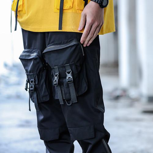 ENSHADOWER隐蔽者xCAT联名款多扣具大口袋长裤工装潮牌休闲裤男