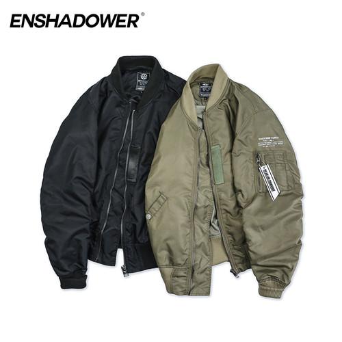 ENSHADOWER隐蔽者2017SS轻薄杜邦防水MA1空军夹克潮流长袖外套男