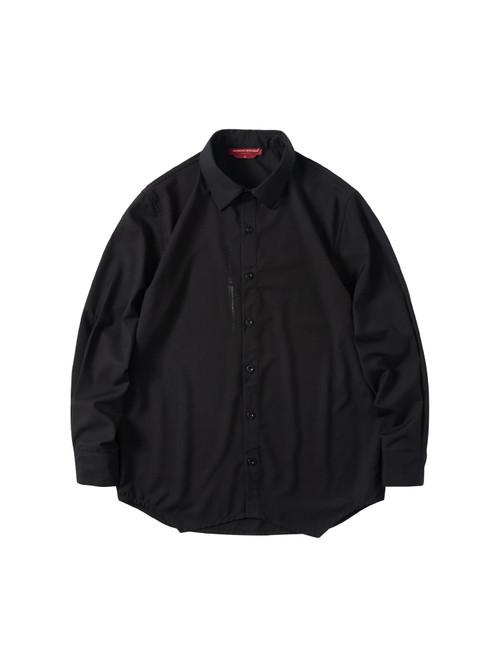 ENSHADOWER隐蔽者新款可拆卸马甲衬衫男潮牌黑色休闲工装衬衣外套