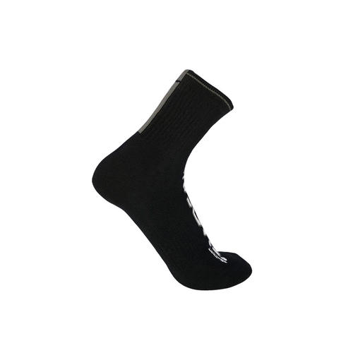 ENSHADOWER隐蔽者男士袜子大LOGO印花男士袜运动袜棉袜中筒袜