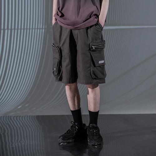 ENSHADOWER隐蔽者潮牌夏季多口袋工装短裤男新款宽松休闲五分裤子