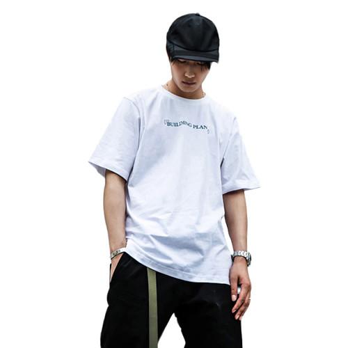 ENSHADOWER隐蔽者立体印花短袖男潮流圆领休闲纯棉t恤