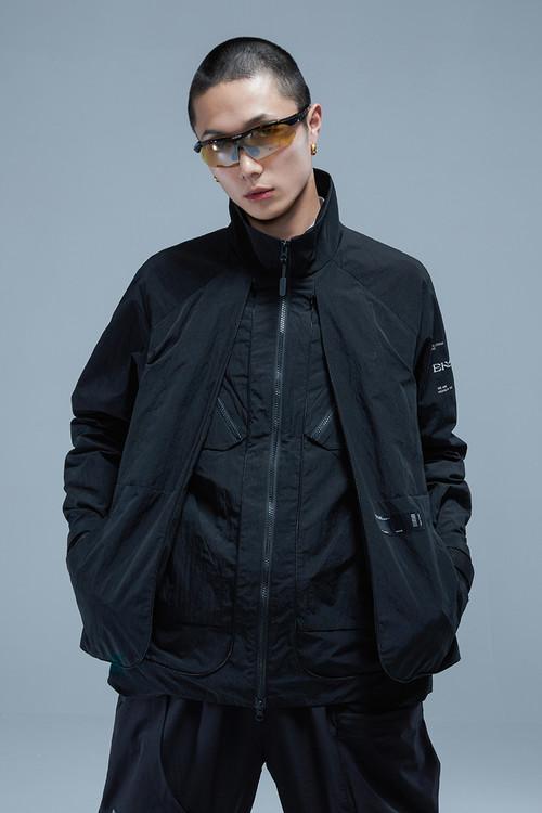ENSHADOWER隐蔽者机能隐形空间拓展男士夹克宽松潮牌情侣黑色外套