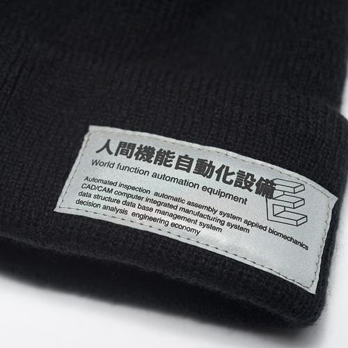 ENSHADOWER隐蔽者潮流冬季保暖针织毛线帽基础反光标包头防风冷帽