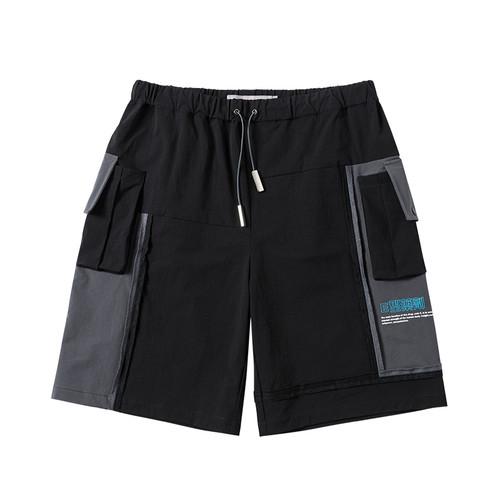 ENSHADOWER隐蔽者【E型药剂系列】潮牌工装拼接短裤男宽松五分裤
