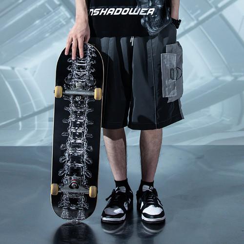 ENSHADOWER隐蔽者液体骨骼滑板单面板