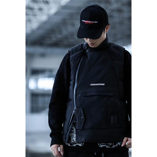 ENSHADOWER隐蔽者多功能工装机能战术棉马甲冬新款坎肩背心外套男