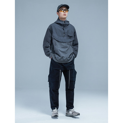 ENSHADOWER隐蔽者机能工装裤男潮牌可拆卸口袋运动长裤宽松休闲裤