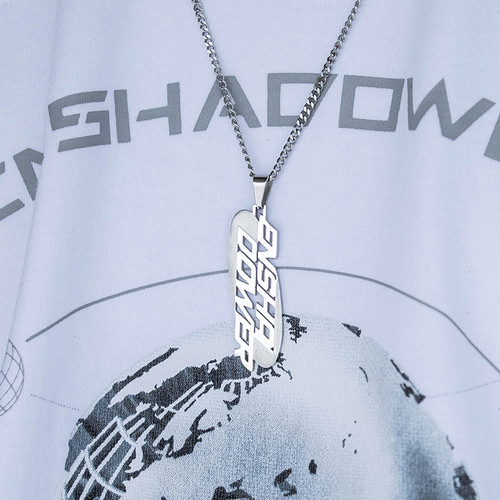 ENSHADOWER隐蔽者品牌LOGO项链潮流个性男士挂链时尚饰品