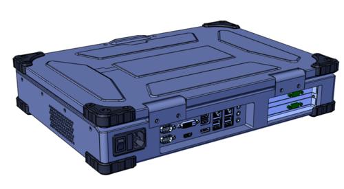 PXI/PXIe/PCI/PCIe-A3210 上翻式2槽可扩展笔记本计算机(17寸)