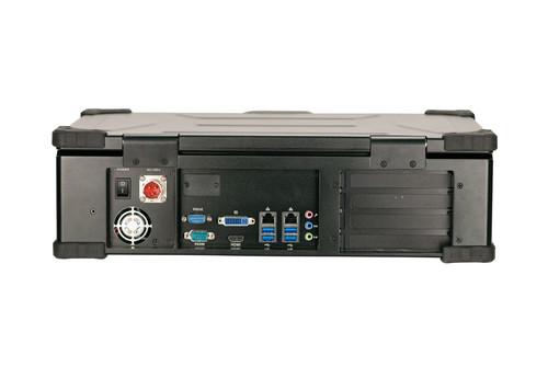 PCIe/PXIe-A3410 上翻式4槽可扩展笔记本计算机(17寸)