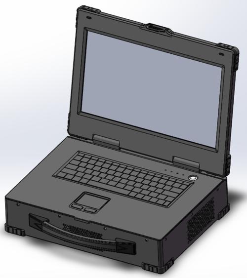 PCIe-A3311 上翻式3槽PCIe可扩展笔记本计算机(15寸屏)