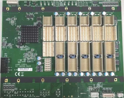 BPe-62301 6槽PXIe全混合背板套件(含电源)