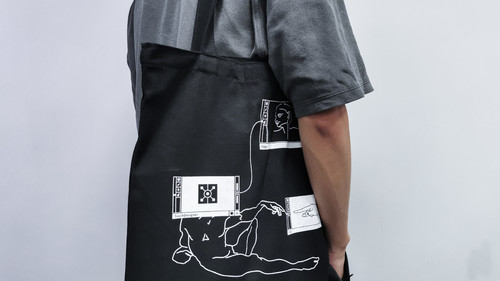 TD帆布包(送贴纸一套哦)