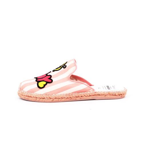 S/S 2020春夏 女士麻底凉拖 01856W 粉红色