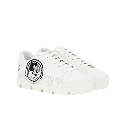 S/S 2020春夏 女士运动休闲鞋 83210W 白色