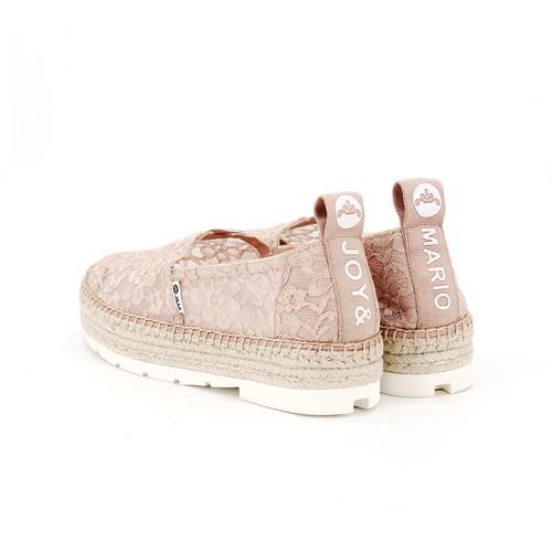 S/S 2020春夏 女士麻底休闲鞋 02028W 粉红色