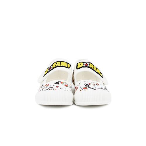 S/S 2020春夏 童鞋哆啦A梦联名款休闲鞋  63196C 白色