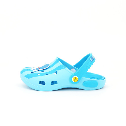 S/S 2020春夏 童鞋哆啦A梦联名款拖鞋  T1102C 蓝色