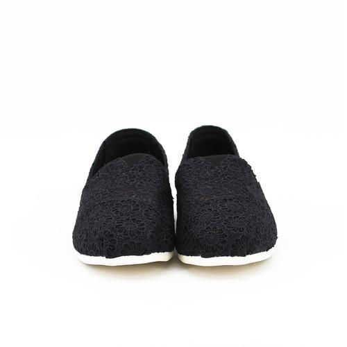 S/S 2020春夏 女士帆布休闲鞋 62187W 黑色